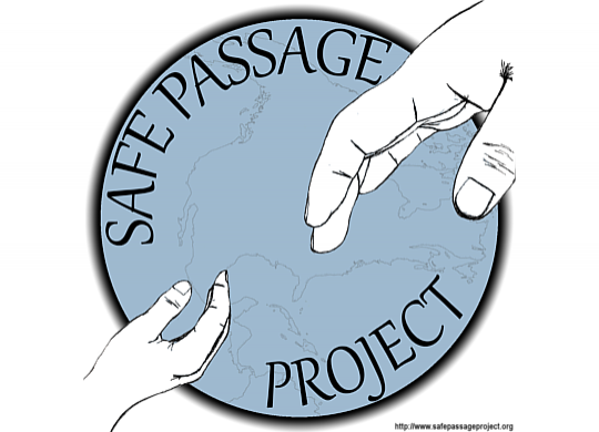 Safe Passage Signs Petition with Center for Human Rights & Constitutional Law