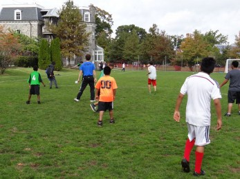 Action Shot Soccer