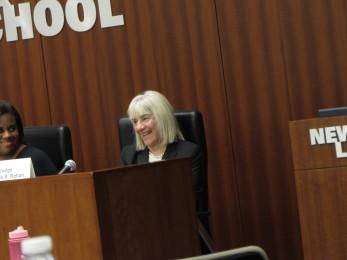 Panel 2 Judge Rohan smiling