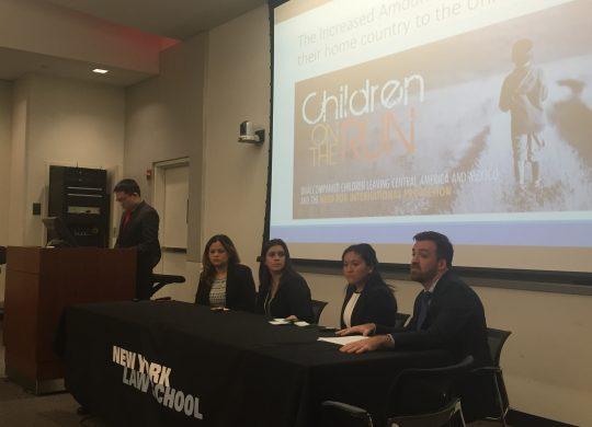 New York Law School Faculty/Student Presentation Day