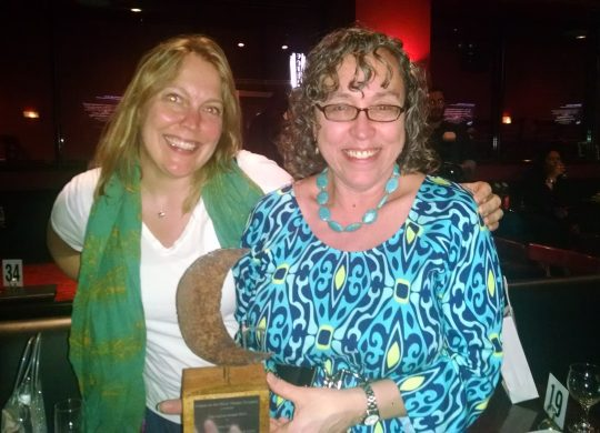Lenni Benson and Safe Passage Honored with Two Awards in April