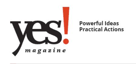 Safe Passage's Alexandra Rizio in Yes! Magazine