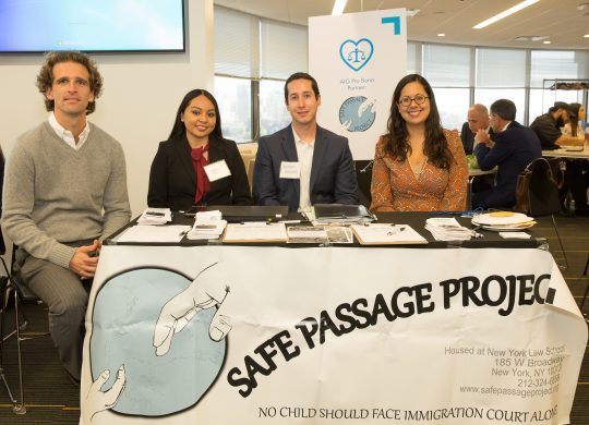 Safe Passage Participates in AIG Pro Bono Month